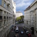Straatbeeld in Wenen