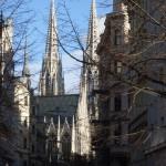 De fraaie neogotiek van de Votivkirche kon me zeker bekoren.