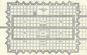 Stadsplanning volgens taalpurist Simon Stevin.